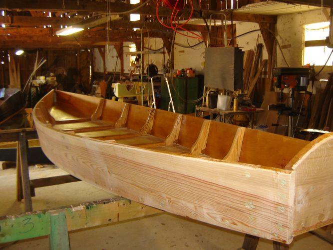 La fabriquation et mon atelier  Fabricant de barques en bois